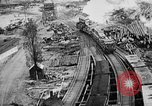 Image of Supply port and rail for Army base section 2 Bordeaux France, 1918, second 2 stock footage video 65675073058