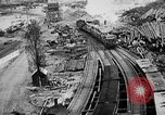 Image of Supply port and rail for Army base section 2 Bordeaux France, 1918, second 5 stock footage video 65675073058