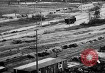 Image of Supply port and rail for Army base section 2 Bordeaux France, 1918, second 19 stock footage video 65675073058