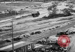 Image of Supply port and rail for Army base section 2 Bordeaux France, 1918, second 22 stock footage video 65675073058