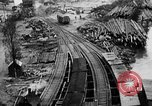 Image of Supply port and rail for Army base section 2 Bordeaux France, 1918, second 37 stock footage video 65675073058