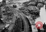 Image of Supply port and rail for Army base section 2 Bordeaux France, 1918, second 38 stock footage video 65675073058