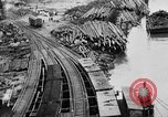Image of Supply port and rail for Army base section 2 Bordeaux France, 1918, second 39 stock footage video 65675073058