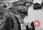 Image of Supply port and rail for Army base section 2 Bordeaux France, 1918, second 40 stock footage video 65675073058