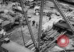 Image of Supply port and rail for Army base section 2 Bordeaux France, 1918, second 46 stock footage video 65675073058