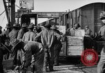 Image of World War 1 Army Base Section 2 cargo operations Bordeaux France, 1918, second 32 stock footage video 65675073060