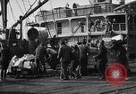 Image of World War 1 Army Base Section 2 cargo operations Bordeaux France, 1918, second 43 stock footage video 65675073060