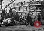 Image of World War 1 Army Base Section 2 cargo operations Bordeaux France, 1918, second 45 stock footage video 65675073060