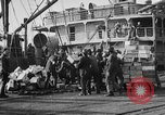 Image of World War 1 Army Base Section 2 cargo operations Bordeaux France, 1918, second 47 stock footage video 65675073060