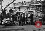 Image of World War 1 Army Base Section 2 cargo operations Bordeaux France, 1918, second 50 stock footage video 65675073060