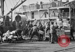 Image of World War 1 Army Base Section 2 cargo operations Bordeaux France, 1918, second 51 stock footage video 65675073060
