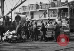 Image of World War 1 Army Base Section 2 cargo operations Bordeaux France, 1918, second 52 stock footage video 65675073060