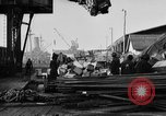 Image of World War 1 Army Base Section 2 cargo operations Bordeaux France, 1918, second 57 stock footage video 65675073060