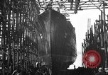 Image of ship launching United States USA, 1918, second 4 stock footage video 65675073070