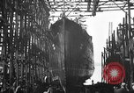 Image of ship launching United States USA, 1918, second 5 stock footage video 65675073070