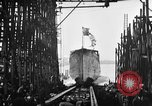 Image of ship launching United States USA, 1918, second 15 stock footage video 65675073070