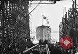 Image of ship launching United States USA, 1918, second 16 stock footage video 65675073070