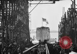 Image of ship launching United States USA, 1918, second 18 stock footage video 65675073070