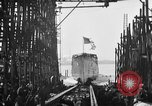 Image of ship launching United States USA, 1918, second 19 stock footage video 65675073070