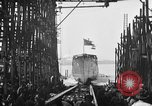 Image of ship launching United States USA, 1918, second 20 stock footage video 65675073070