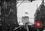 Image of ship launching United States USA, 1918, second 22 stock footage video 65675073070