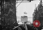 Image of ship launching United States USA, 1918, second 23 stock footage video 65675073070