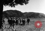 Image of Vietnamese soldiers Thakhet Laos, 1943, second 29 stock footage video 65675073079