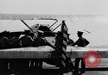 Image of West Point Cadets learn about airplanes at Mitchel Field Hempstead New York USA, 1937, second 3 stock footage video 65675073086
