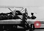Image of West Point Cadets learn about airplanes at Mitchel Field Hempstead New York USA, 1937, second 5 stock footage video 65675073086