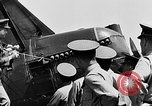 Image of West Point Cadets learn about airplanes at Mitchel Field Hempstead New York USA, 1937, second 12 stock footage video 65675073086