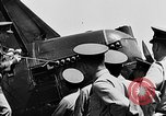 Image of West Point Cadets learn about airplanes at Mitchel Field Hempstead New York USA, 1937, second 13 stock footage video 65675073086