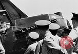 Image of West Point Cadets learn about airplanes at Mitchel Field Hempstead New York USA, 1937, second 14 stock footage video 65675073086