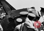 Image of West Point Cadets learn about airplanes at Mitchel Field Hempstead New York USA, 1937, second 15 stock footage video 65675073086