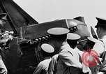 Image of West Point Cadets learn about airplanes at Mitchel Field Hempstead New York USA, 1937, second 16 stock footage video 65675073086