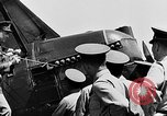 Image of West Point Cadets learn about airplanes at Mitchel Field Hempstead New York USA, 1937, second 17 stock footage video 65675073086