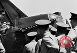 Image of West Point Cadets learn about airplanes at Mitchel Field Hempstead New York USA, 1937, second 18 stock footage video 65675073086