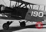 Image of West Point Cadets learn about airplanes at Mitchel Field Hempstead New York USA, 1937, second 29 stock footage video 65675073086