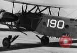 Image of West Point Cadets learn about airplanes at Mitchel Field Hempstead New York USA, 1937, second 31 stock footage video 65675073086