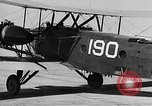 Image of West Point Cadets learn about airplanes at Mitchel Field Hempstead New York USA, 1937, second 32 stock footage video 65675073086