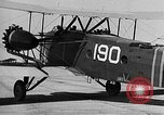 Image of West Point Cadets learn about airplanes at Mitchel Field Hempstead New York USA, 1937, second 33 stock footage video 65675073086