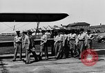 Image of West Point Cadets learn about airplanes at Mitchel Field Hempstead New York USA, 1937, second 35 stock footage video 65675073086