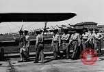 Image of West Point Cadets learn about airplanes at Mitchel Field Hempstead New York USA, 1937, second 36 stock footage video 65675073086