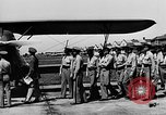 Image of West Point Cadets learn about airplanes at Mitchel Field Hempstead New York USA, 1937, second 38 stock footage video 65675073086