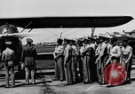Image of West Point Cadets learn about airplanes at Mitchel Field Hempstead New York USA, 1937, second 40 stock footage video 65675073086