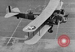 Image of West Point Cadets learn about airplanes at Mitchel Field Hempstead New York USA, 1937, second 49 stock footage video 65675073086