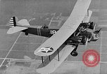 Image of West Point Cadets learn about airplanes at Mitchel Field Hempstead New York USA, 1937, second 50 stock footage video 65675073086