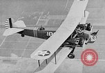 Image of West Point Cadets learn about airplanes at Mitchel Field Hempstead New York USA, 1937, second 51 stock footage video 65675073086