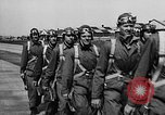 Image of West Point cadets get flight familiarization at Mitchel Field Hempstead New York USA, 1937, second 39 stock footage video 65675073087