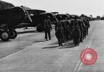 Image of West Point cadets get flight familiarization at Mitchel Field Hempstead New York USA, 1937, second 48 stock footage video 65675073087