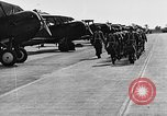 Image of West Point cadets get flight familiarization at Mitchel Field Hempstead New York USA, 1937, second 51 stock footage video 65675073087